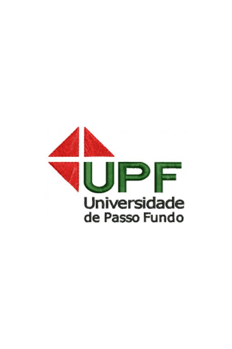 Bordado Instituição de ensino - UPF