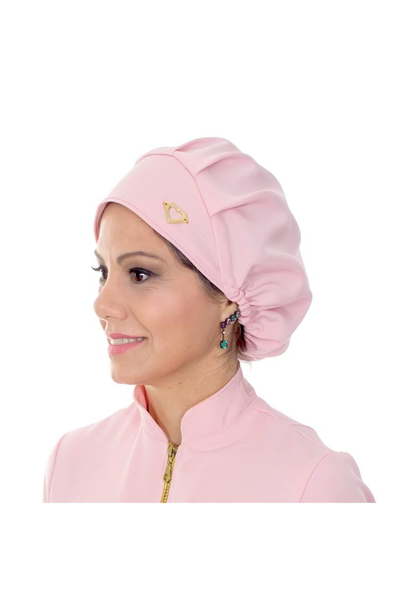 Touca cirúrgica Rosa Blush