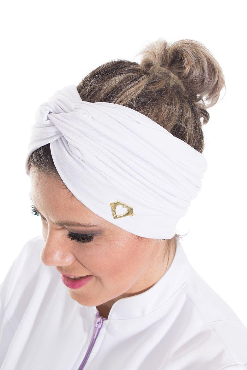 Turbante Branco