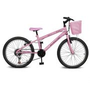 Bicicleta Kyklos Aro 20 Magie 7V Rosa