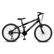 Bicicleta Kyklos Aro 20 Move 7V Preto