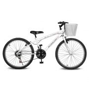 Bicicleta Kyklos Aro 24 Magie 21V Branca