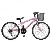 Bicicleta Kyklos Aro 24 Magie 21V Rosa