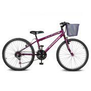 Bicicleta Kyklos Aro 24 Magie 21V Violeta
