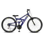 Bicicleta Kyklos Aro 26 caballu 7.4 Rebaixada 21V A-36 Azul