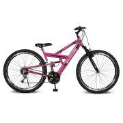 Bicicleta Kyklos Aro 26 caballu 7.4 Rebaixada 21V A-36 Pink