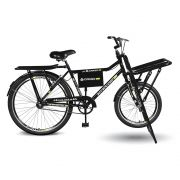 Bicicleta Kyklos Aro 26 Cargo 4.5 Freio Manual A-36 Preto