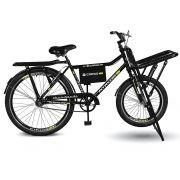 Bicicleta Kyklos Aro 26 Cargo 4.7 A-36 Reforçado Freio Contapedal e V-brake Preto