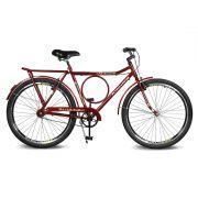 Bicicleta Kyklos Aro 26 Circular 5.8 Freio Manual A-36 Vermelho