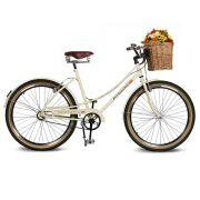 Bicicleta Kyklos Aro 26 Jolie 2.0 Bege