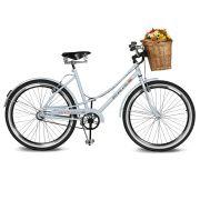 Bicicleta Kyklos Aro 26 Jolie 2.0 Branco Azulado