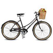 Bicicleta Kyklos Aro 26 Jolie 2.0 Preto