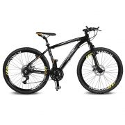 Bicicleta Kyklos Aro 26 Kivnon 8.5 Freio a Disco A-36 Preto/Laranja