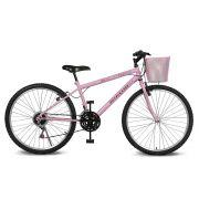 Bicicleta Kyklos Aro 26 Magie 21V Rosa