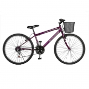 Bicicleta Kyklos Aro 26 Magie 21V Violeta
