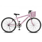 Bicicleta Kyklos Aro 26 Magie Sem Marchas Rosa