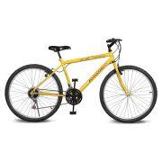 Bicicleta Kyklos Aro 26 Move 21V Amarelo