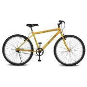 Bicicleta Kyklos Aro 26 Move Sem Marchas Amarelo