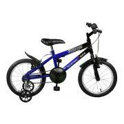Bicicleta Master Bike Aro 16 Free Boy Freio V-Brake Azul/Preto
