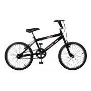 Bicicleta Master Bike Aro 20 Jump Freio V-Brake Aro Alumínio Preto