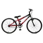 Bicicleta Master Bike Aro 24 Ciclone Freio V-Brake Vermelho/Preto