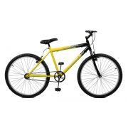 Bicicleta Master Bike Aro 26 Ciclone Freio V-Brake Amarelo/Preto
