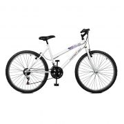 Bicicleta Master Bike Aro 26 Emotion 18 Marchas V-Brake Branco