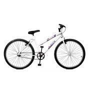 Bicicleta Master Bike Aro 26 Feline Freio V-Brake Branco