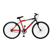 Bicicleta Master Bike Aro 26 Pop Freio V-Brake Vermelho/Preto