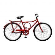 Bicicleta Master Bike Aro 26 Super Barra Contrapedal Vermelho