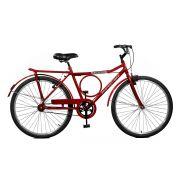 Bicicleta Master Bike Aro 26 Super Barra Freio V-Brake Vermelho