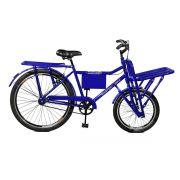 Bicicleta Master Bike Aro 26 Super Cargo Freio Manual A-36 Azul