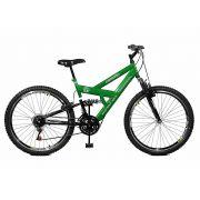 Bicicleta Master Bike Aro 26 Verdao 21Marchas A-36 Freio V-Brake Verde e Preto