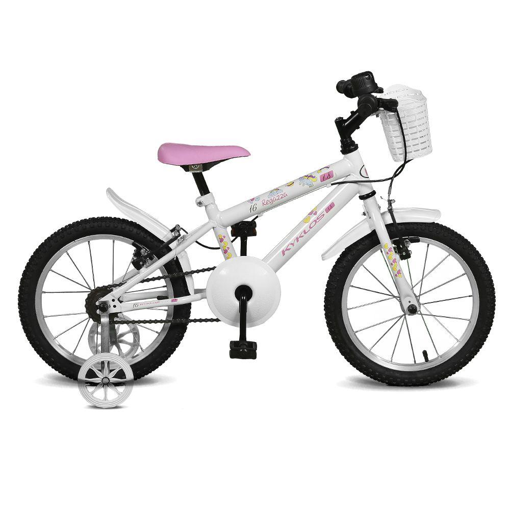 Bicicleta Kyklos Aro 16 Regazza 1.8 Branco