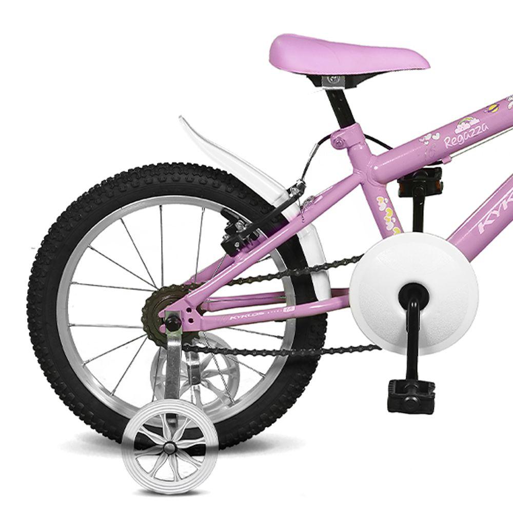 Bicicleta Kyklos Aro 16 Regazza 1.8 Rosa