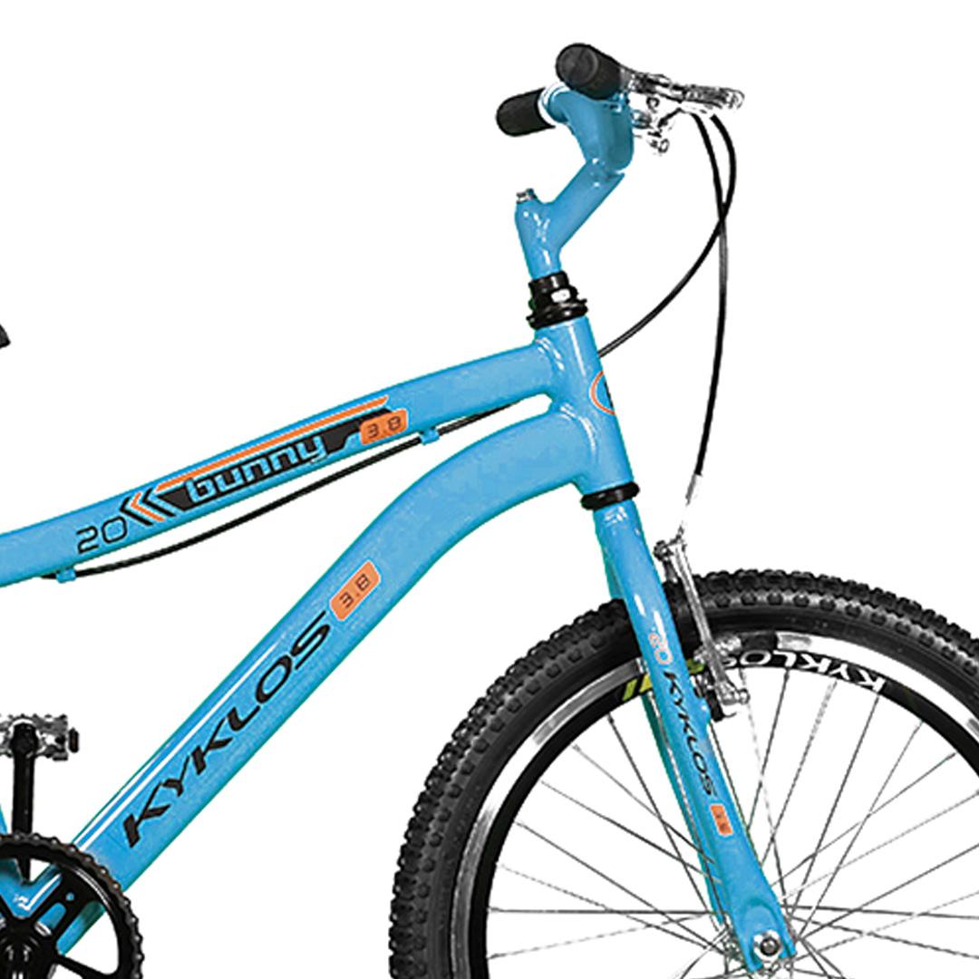 Bicicleta Kyklos Aro 20 Bunny 3.8 A-36 Azul