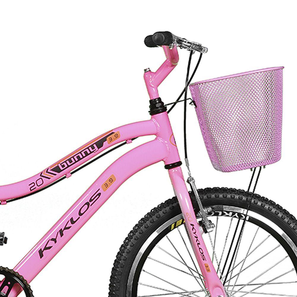 Bicicleta Kyklos Aro 20 Bunny 3.9 A-36 Rosa