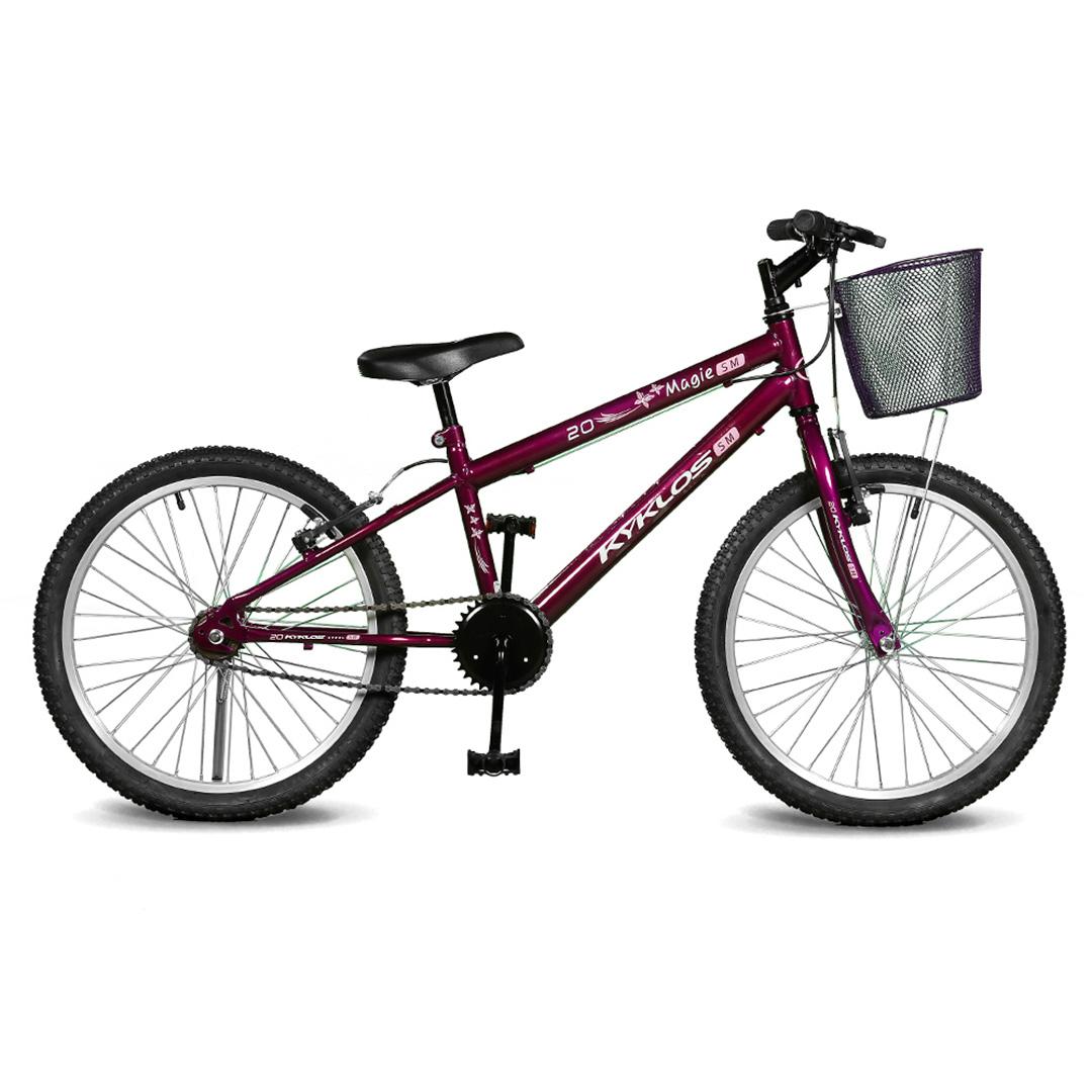 Bicicleta Kyklos Aro 20 Magie Sem Marchas Violeta