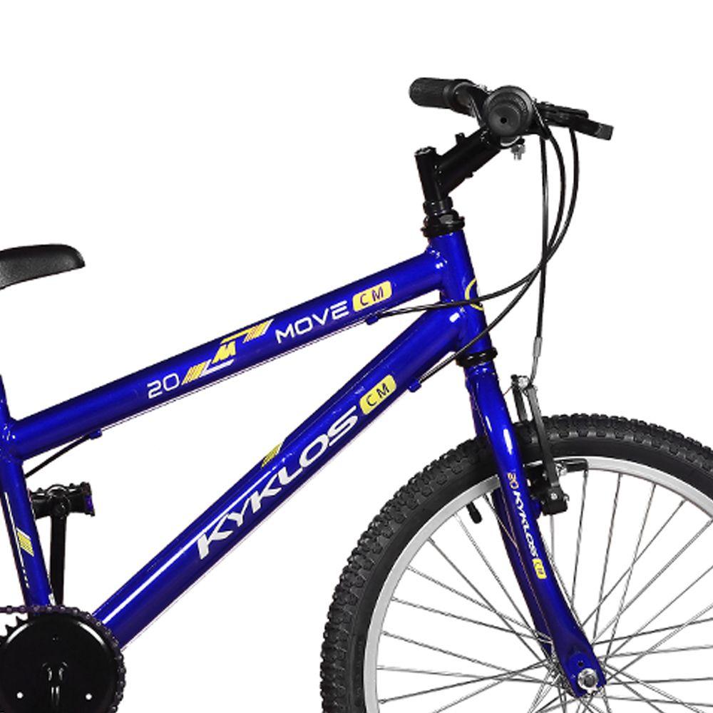 Bicicleta Kyklos Aro 20 Move 7V Azul