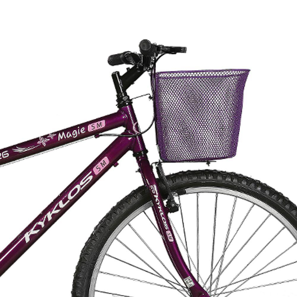 Bicicleta Kyklos Aro 26 Magie Sem Marchas Violeta