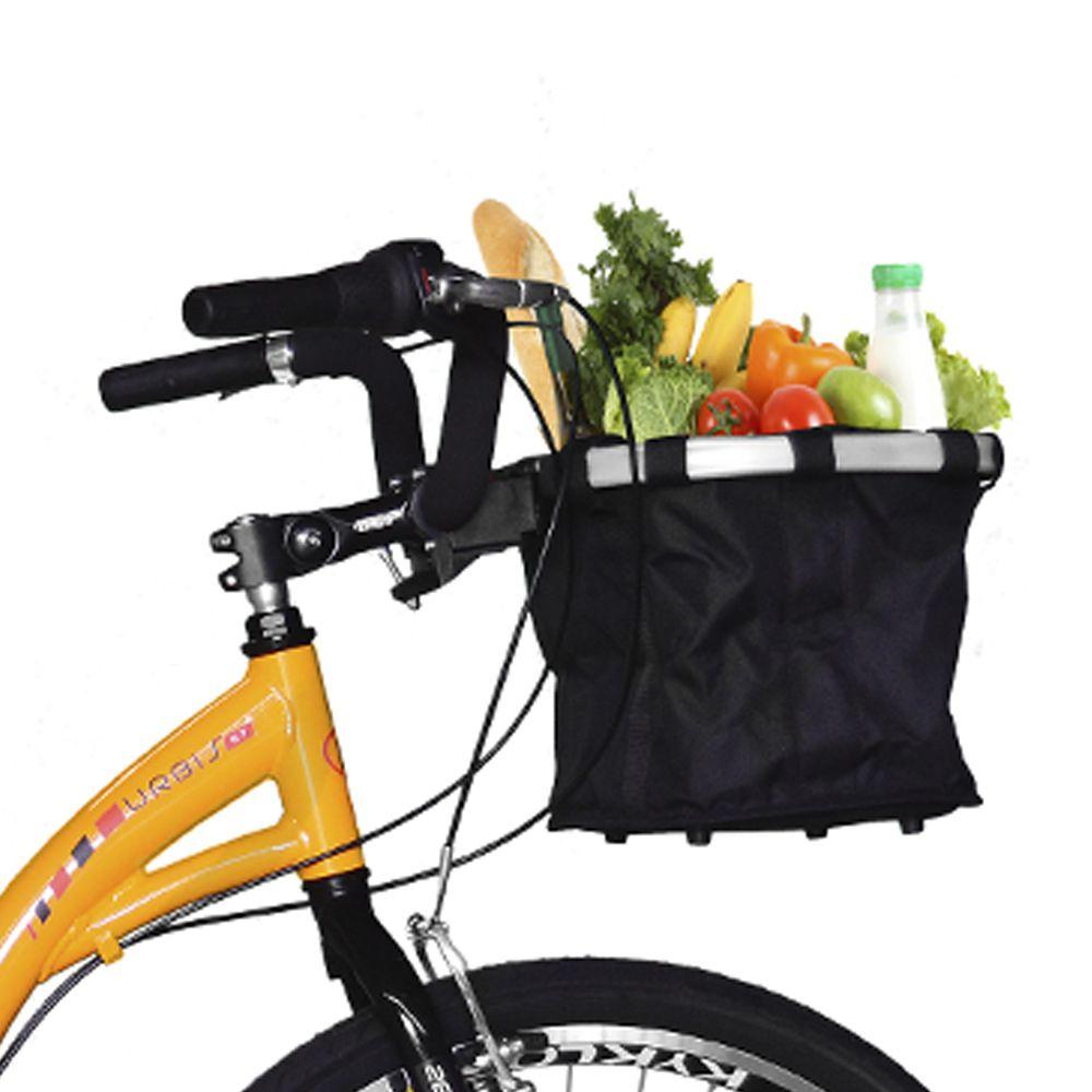 Bicicleta Kyklos Aro 26 Urbis 8.7 V-Brake Nexus com Cesta Amarelo