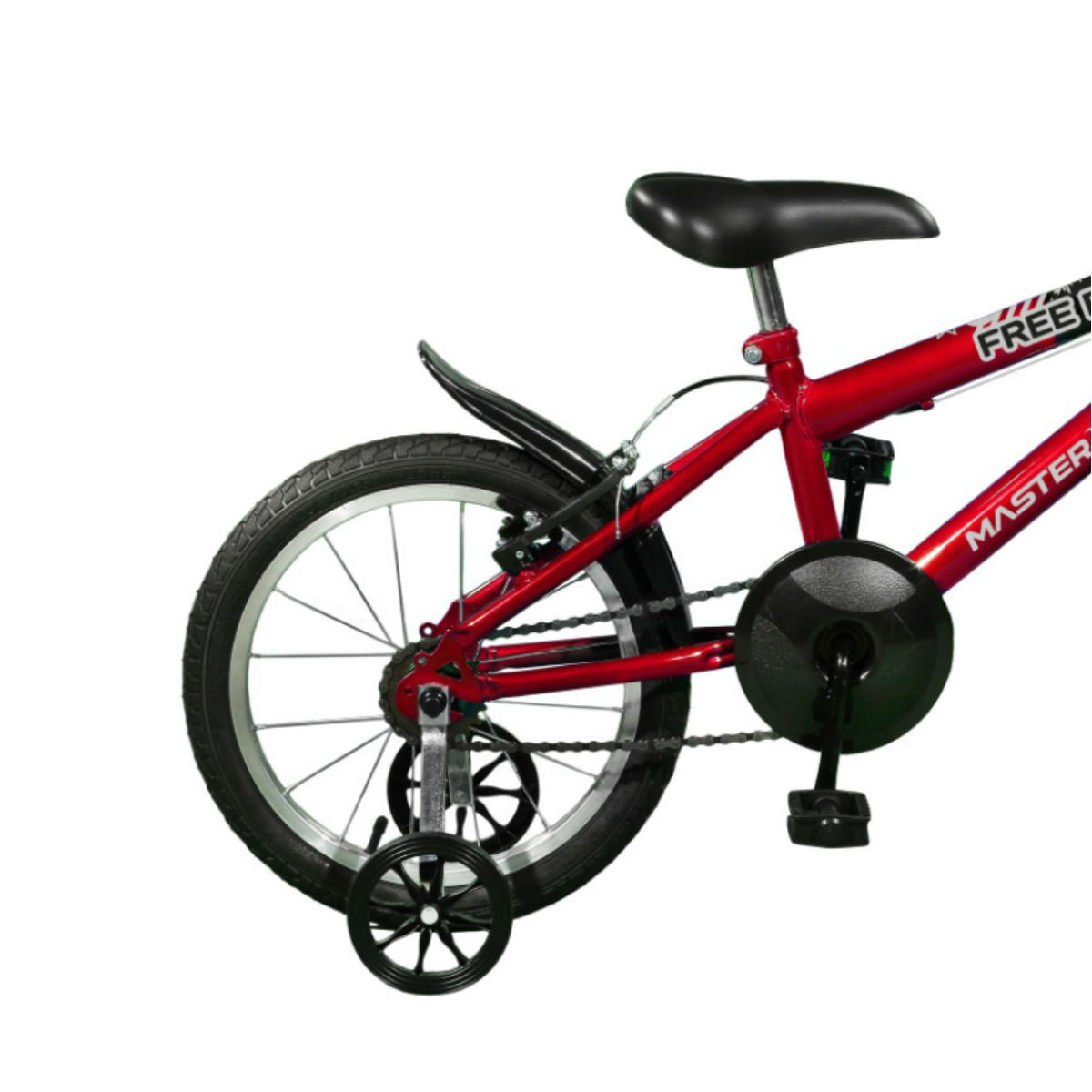 Bicicleta Master Bike Aro 16 Free Boy Freio V-Brake Vermelho/Preto