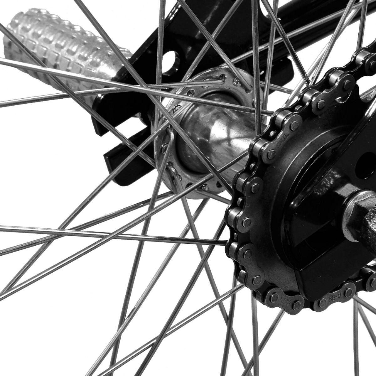 Bicicleta Master Bike Aro 20 Jump A-36 V-Brake Aro Aero Preto