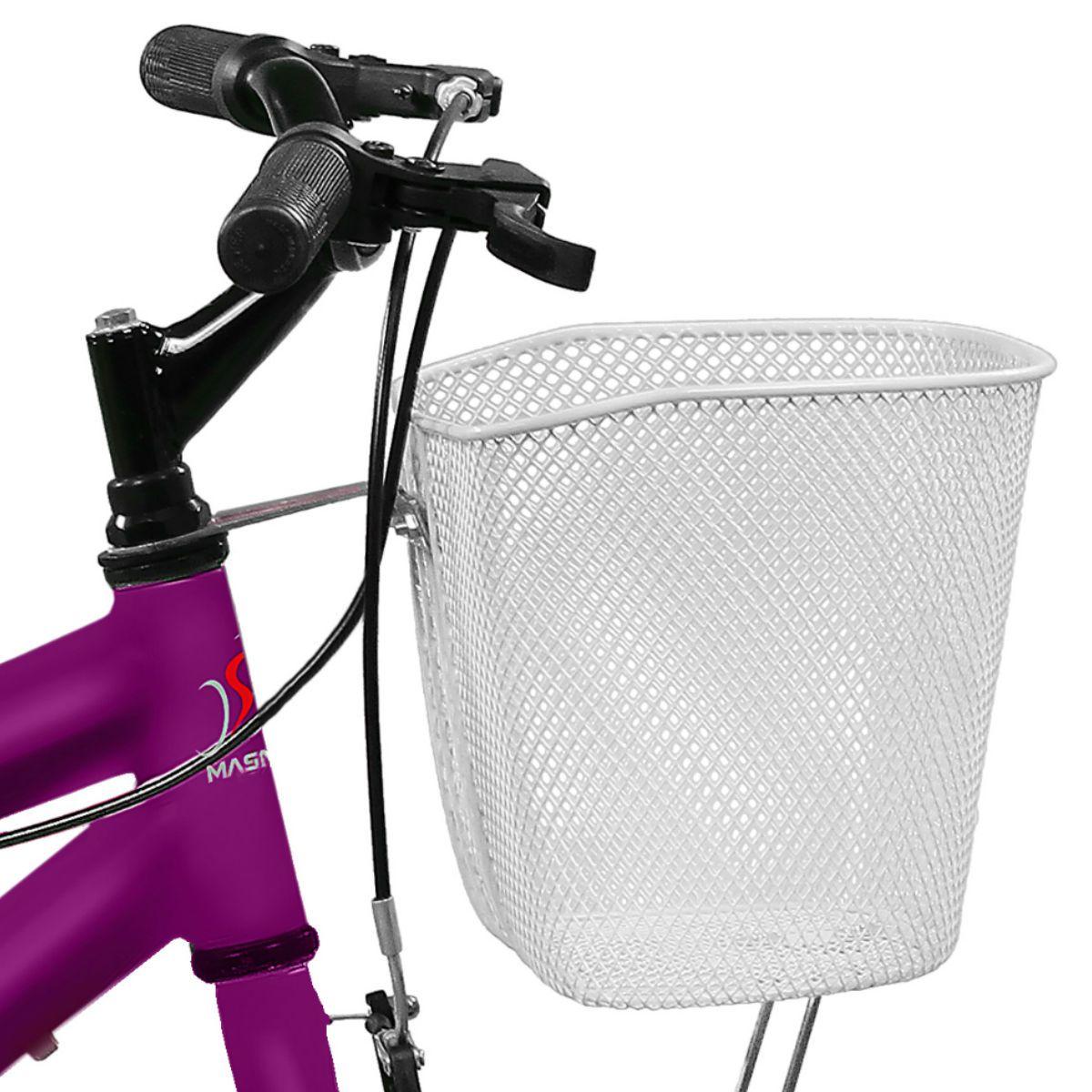 Bicicleta Master Bike Aro 20 Serena Freio V-Brake Violeta