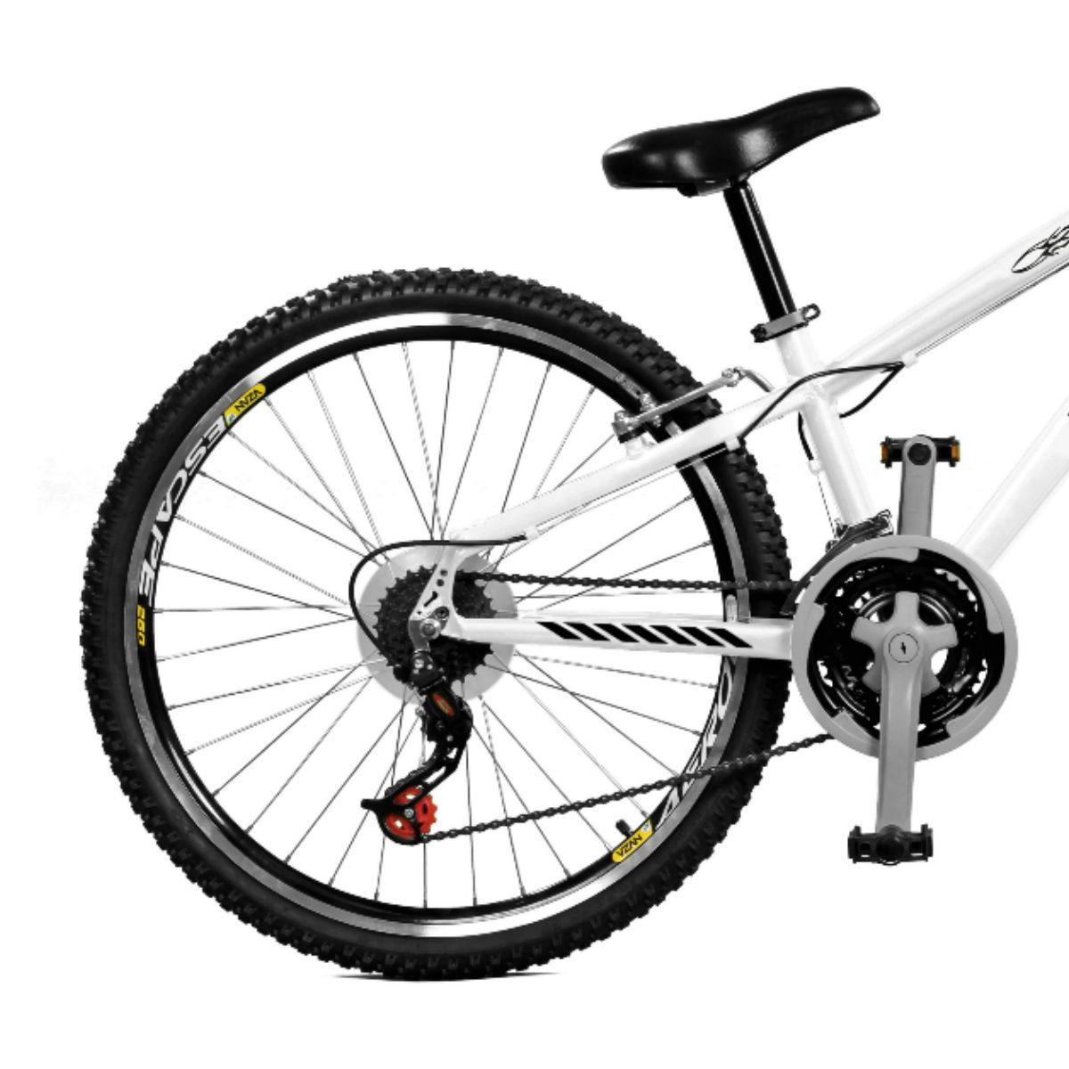 Bicicleta Master Bike Aro 26 Free Rider S A-36 21 Marchas Branco