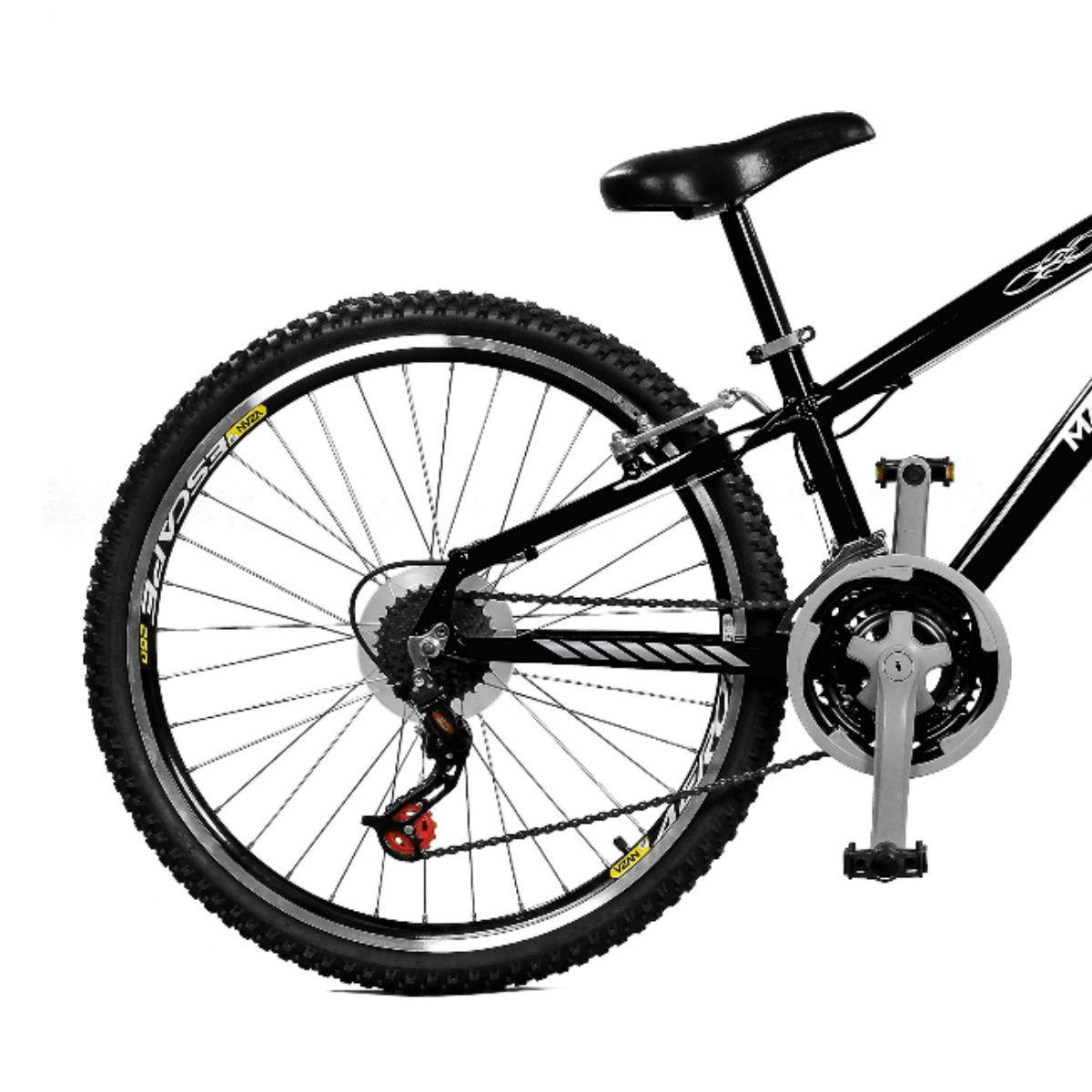 Bicicleta Master Bike Aro 26 Free Rider S A-36 21 Marchas Preto