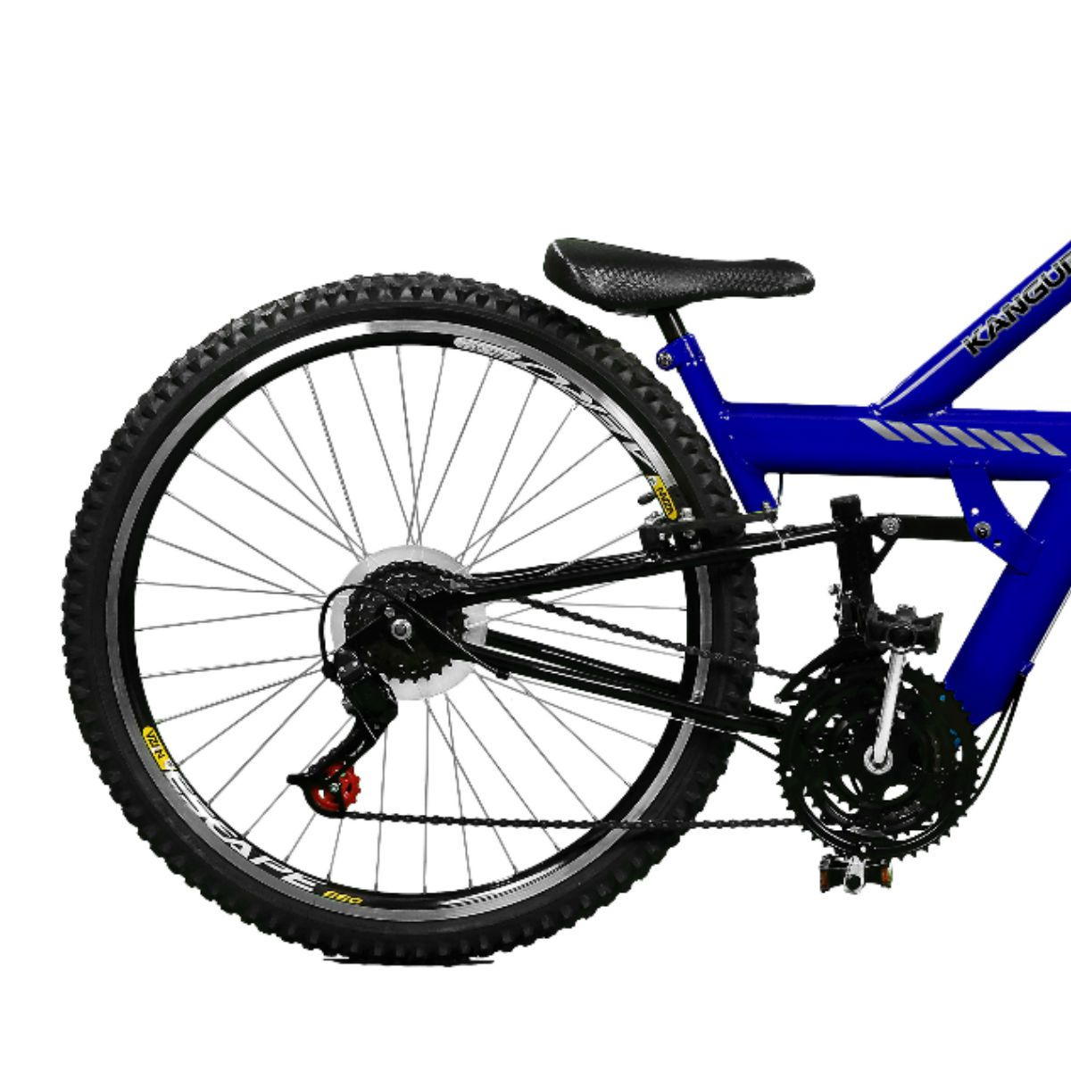 Bicicleta Master Bike Aro 26 Kanguru Rebaixada 21 V A-36 Azul/Preto
