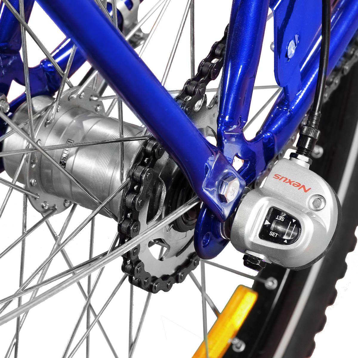 Bicicleta Master Bike Aro 26 Max Cargo A-36 com 3 V Nexus Azul