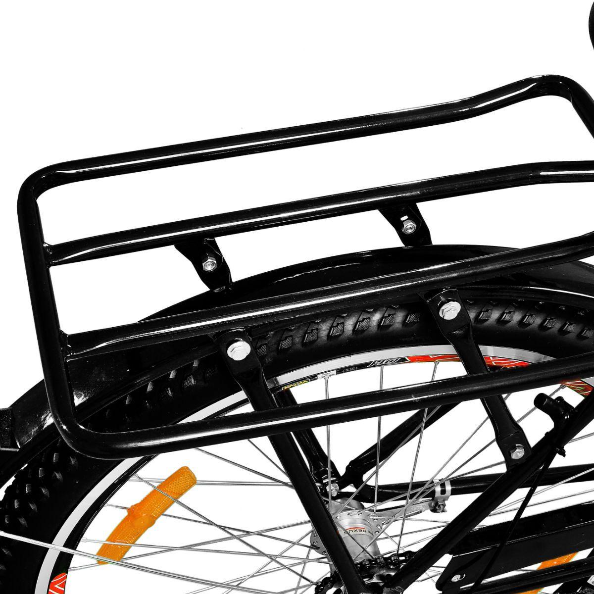Bicicleta Master Bike Aro 26 Max Cargo A-36 com 3 V Nexus Preto
