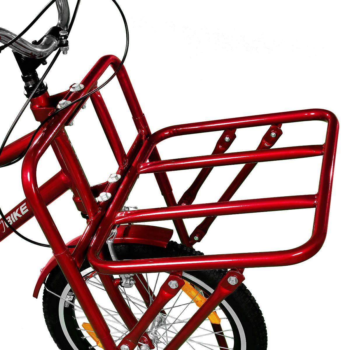 Bicicleta Master Bike Aro 26 Max Cargo A-36 com 3 V Nexus Vermelho